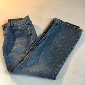 J. Crew Men's 34X31 Jeans, Mid Rise, Boot Cut